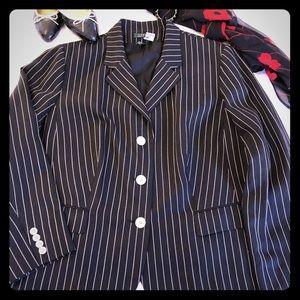 Ralph Lauren pinstripe blazer
